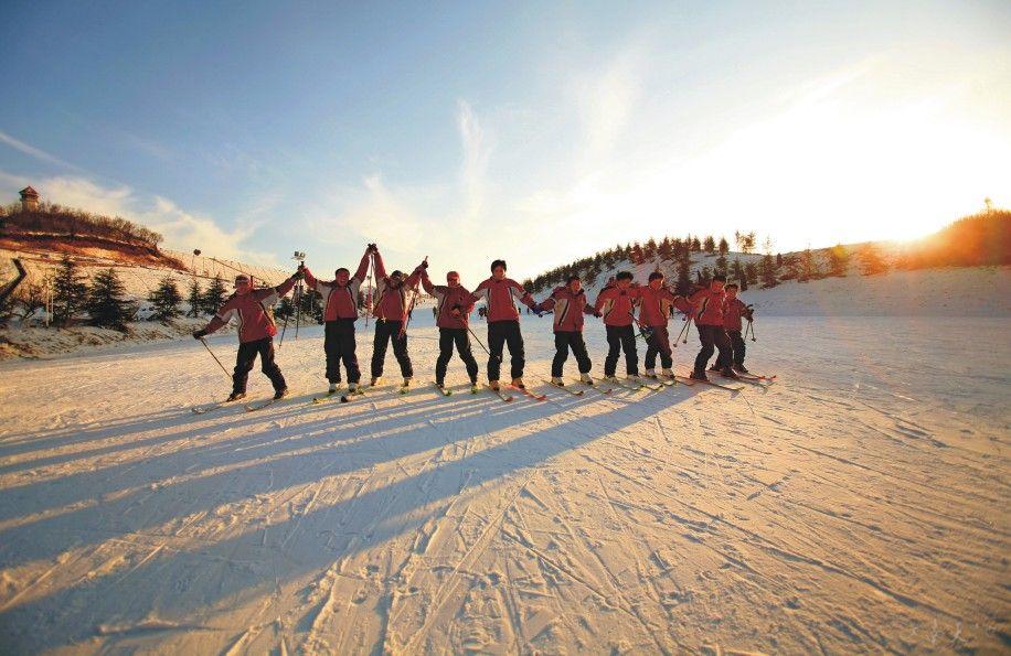 安吉江南天池滑雪