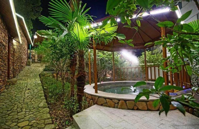 美林度假村温泉图片